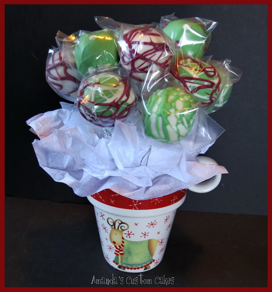 Images Of Cake Pop Bouquets